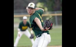 Eric Hinnenkamp picked up the win against Sauk Centre, throwing seven innings and allowing just one run.