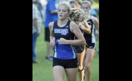 Megan Och paced the girls with a 44th place finish.