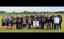 LPGE students competed at the state shoot in Alexandria. Front row from left:  Carson Lemke, Abbey Hebert, Issy Allen, Emily Marcyes, Madison Becker, Connor Crosby, Weston Heuer, Myles Elmes, Alex Pesta, Adrian Bearson, and Tyler Nelson. Back row from left:  Shawn Houdek, Kale Danielson, Dakota Kramer, Joe Langer, Sam Olson, Noah Koltes, Ben Katterhagen, Andrew Katterhagen, Oren Gamradt, Derek Loxtercamp, and Nathan Ruda.