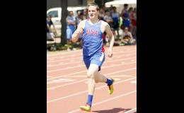 Lawrence Mettler raced to a first place finish in both the 800 and 1600, earning MVP honors.