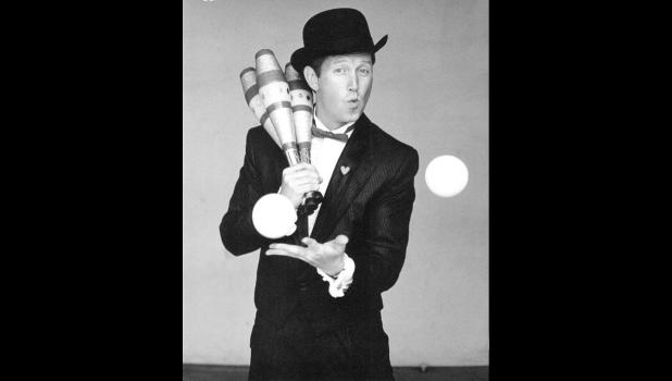 Comedy Juggler Alan Johnson will be performing at this years Cinco de Mayo fiesta.