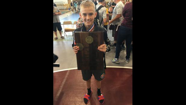 Wolves wrestler Cael Lorentz recently competed in two national team wrestling tournaments hosted at Indianapolis, Indiana.