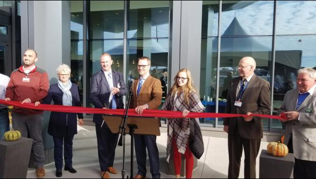 CentraCare Health-Long Prairie's new medical campus officially opened for operation Monday. Last Friday a ribbon cutting was held and tours for the public were given.