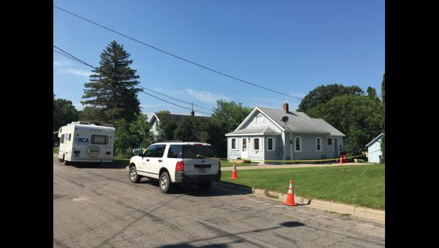 The suspected homicide occured at 451 Todd St. S. in Long Prairie the evening of July 27.