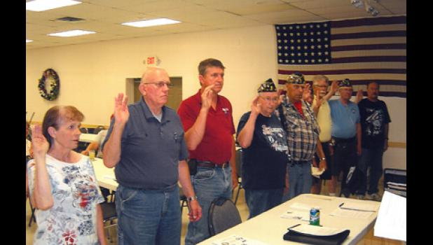 The Long Prairie American Legion Post 12 recently elected new officers.
