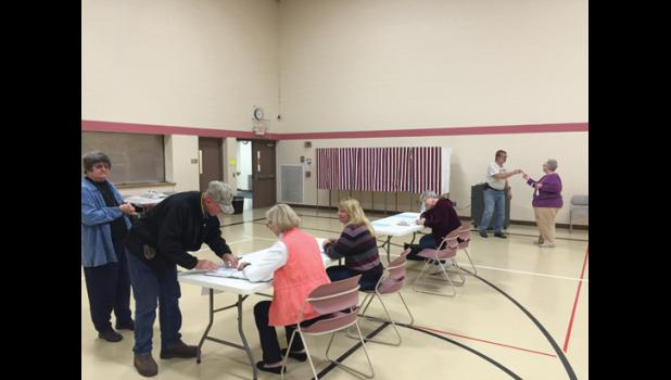 Voters cast their decision on the LPGE referendum Nov. 3. Both LPGE and Swanville passed their referendum ballot questions.