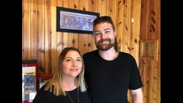 Chaslyn Line and Daniel Traynor are the new owners at Thunder Lodge in Long Prairie. The restaurant features a new menu and expanded selection of craft beers. Thunder Lodge reopened for business Nov. 1.