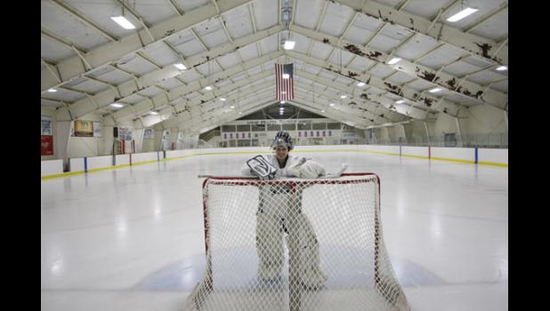 Angela Hanson is expected to get her 3,000th career save as goaltender of the Blue Devils on Tuesday. She would like to build off the team's regular season success when the postseason begins next week.