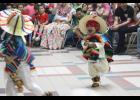 Traditional folk dancers performed for the crowd of hundreds gathered at the Long Prairie-Grey Eagle Secondary School for the annual Cinco de Mayo celebration.