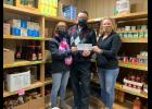 American Family Insurance of Long Prairie, recently made a donation of $750 to the Long Prairie Emergency Food Pantry to kick off the food shelf's March campaign. On hand for the donation were Mary and Doug Schmidt from American Family Insurance and Kris Mechels from the Long Prairie Emergency Food Pantry.