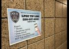 The LPGE Tip Line will go straight to a police monitored voicemail. Not for emergency use.