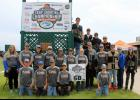 The LPGE trap shooting team competed at the state championship earlier in June. Participants - front row from left:  Tate Twardowski, Colton Allen, Travis Wettstein, Rylan Spaeth, and Justin Houdek. Back row from left:  Allie Lemke, Carson Lemke, Connor Crosby, Adrian Bearson, Asher Cebulla, Tyler Nelson, Madison Becker, Kale Danielson, Shawn Houdek, Ashton Rosenow, Vivian Leroux, and Rita Leroux. Steps from left:  Ben Katterhagen, Derek Dempsey, Alex Pesta, and Joe Langer.