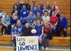 Lawrence Mettler had plenty of family come out to watch his milestone and career night last Friday against Walker-Hackensack-Akeley.