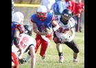 USA quarterback Myron Ripplinger faced intense pressure against a swarming Crusaders defense.