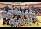 The LPGE/Browerville youth wrestlers earned a tournament title at Fergus Falls on Jan. 9 by going 4-0 on the day.