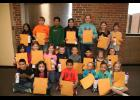 The March Long Prairie-Grey Eagle Students of the Month.