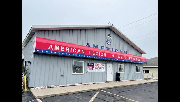 The Long Prairie American Legion Post will celebrate its 100th Anniversary.